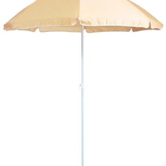 Slunečník Umbrelia (ø 160 cm), béžový natur