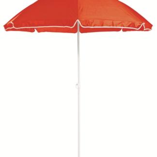 Slunečník Umbrelia (ø 160 cm), červený