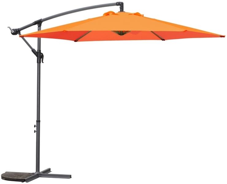 Slunečník Jumbo (ø 300 cm), oranžový