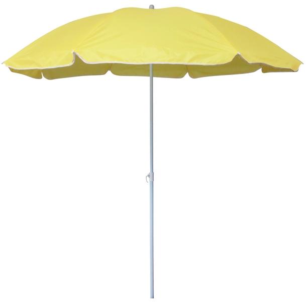 Slunečník Umbrelia (ø 160 cm), žlutý