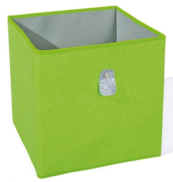 Úložný box Widdy, zelený