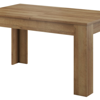 Jídelní stůl Sky 140x80 cm, dub artisan, rozkládací