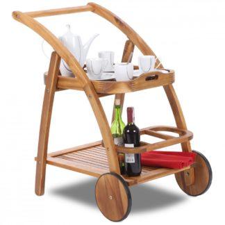 Dřevěný servírovací stolek GH5129