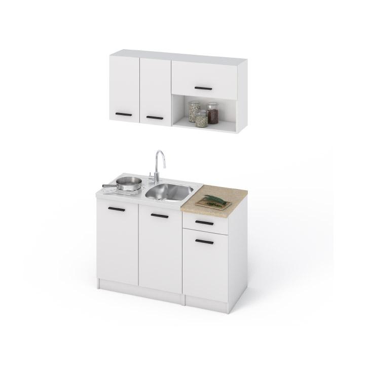 Kuchyňská linka LIBIA 120 bílá DTD laminovaná Tempo Kondela