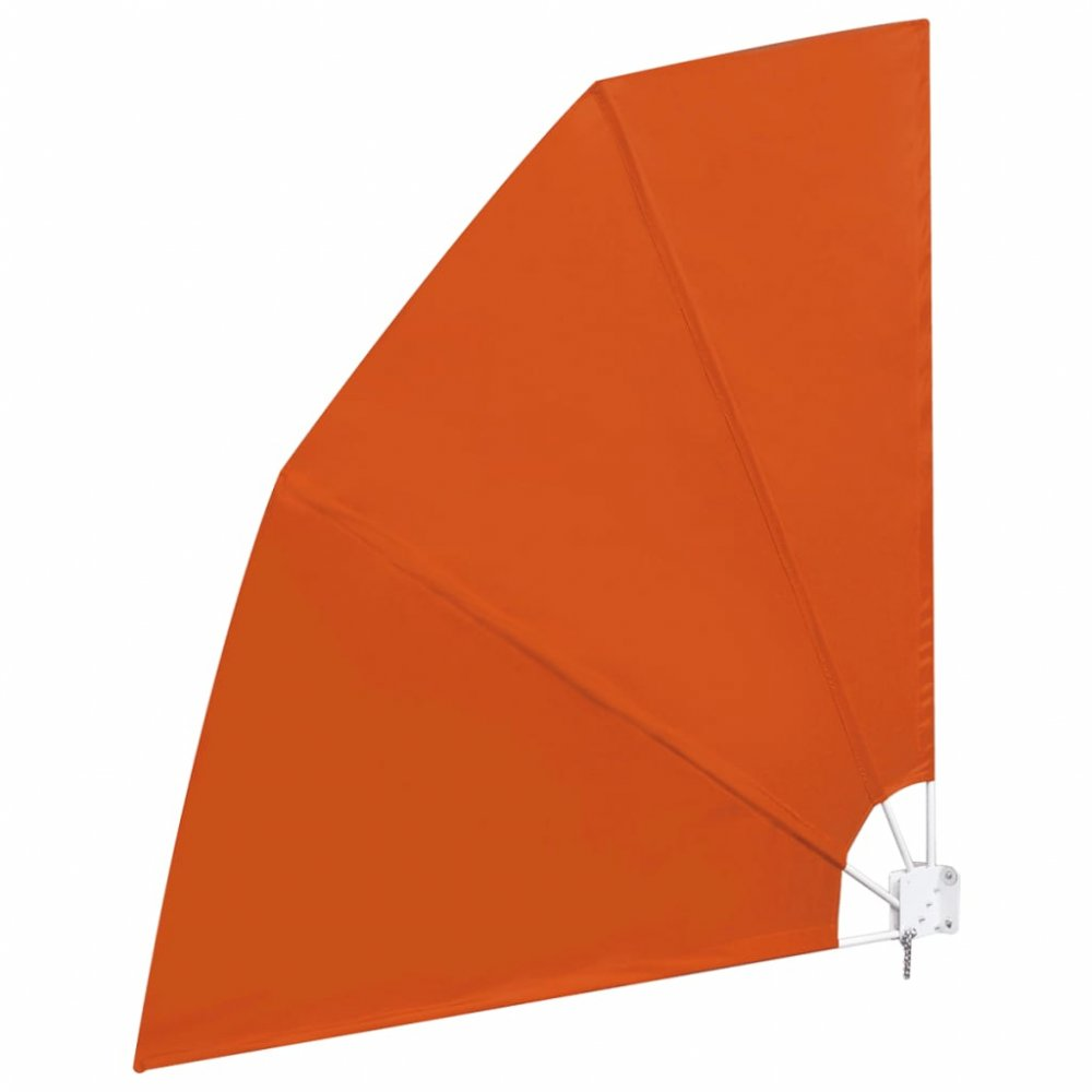 Skládací zástěna proti větru 210 x 210 cm Cihlová