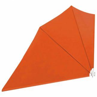 Skládací zástěna proti větru 160 x 240 cm Cihlová