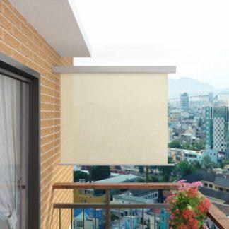 Multifunkční balkonová zástěna 150 x 200 cm Krémová