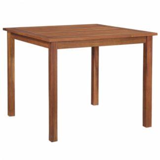 Zahradní jídelní stůl 90 x 90 cm z akáciového dřeva