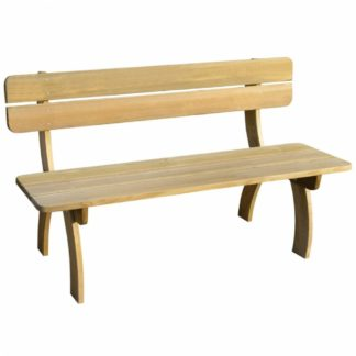 Zahradní lavička 150 cm z borovicového dřeva