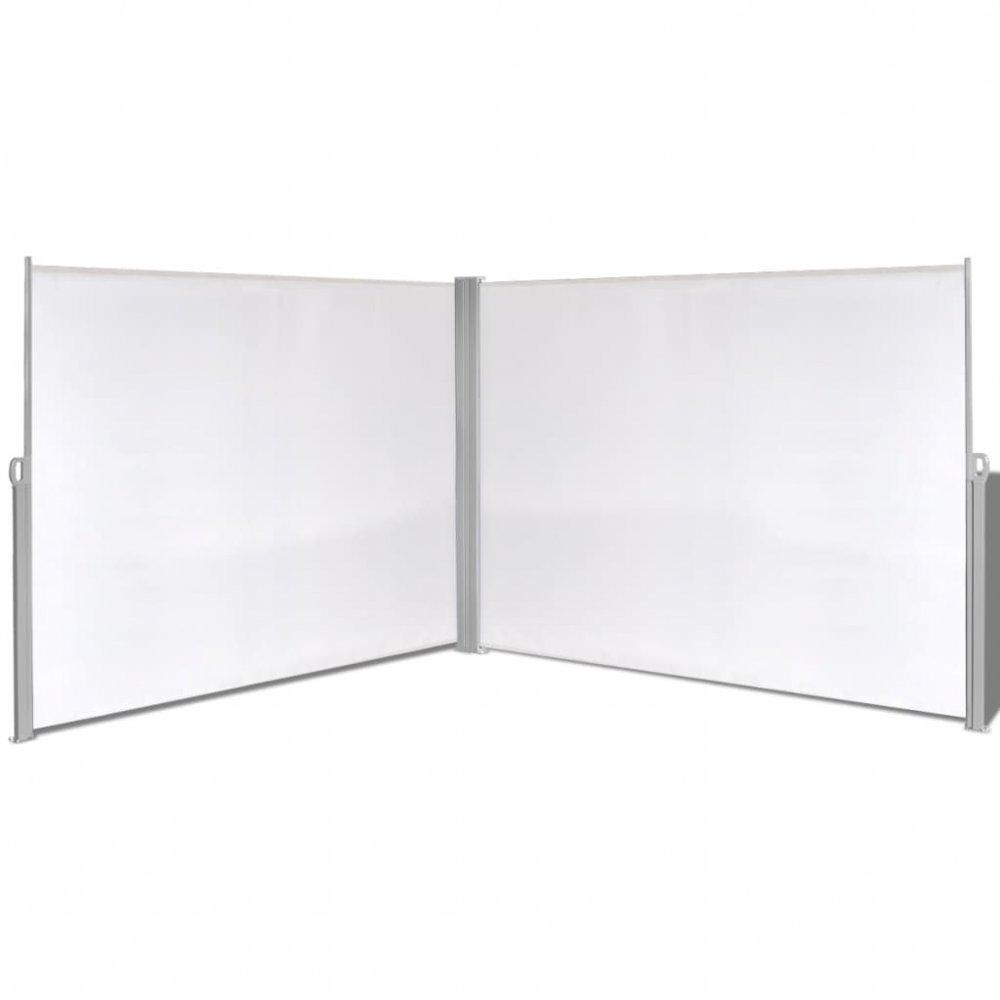 Zatahovací postranní markýza / zástěna 180x600 cm Krémová