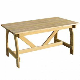 Zahradní stůl z borovicového dřeva 150x74 cm