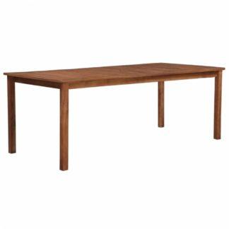 Zahradní jídelní stůl 200 x 90 cm z akáciového dřeva Dekorhome
