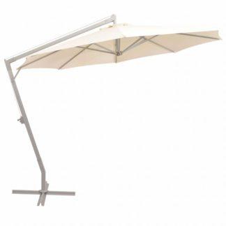 Závěsný slunečník s hliníkovou tyčí Ø 350 cm Písková