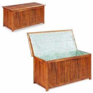 Zahradní úložný box akáciové dřevo