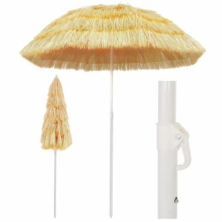 Plážový slunečník v havajském stylu Ø 180 cm