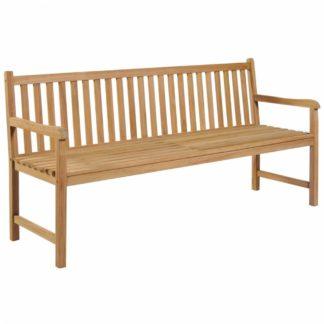 Zahradní lavička 180 cm z teakového dřeva