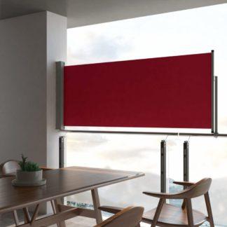 Zatahovací boční markýza 100x300 cm Dekorhome Červená