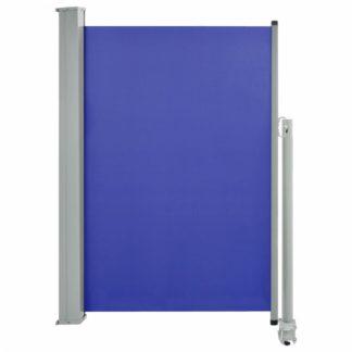 Zatahovací boční markýza 120 x 300 cm Dekorhome Modrá