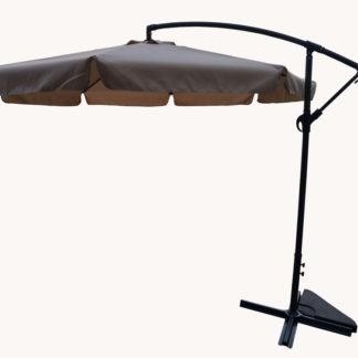 Slunečník EXCLUSIVE boční - béžový ROJAPLAST