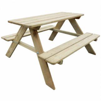 Dětský piknikový stůl borovice Dekorhome