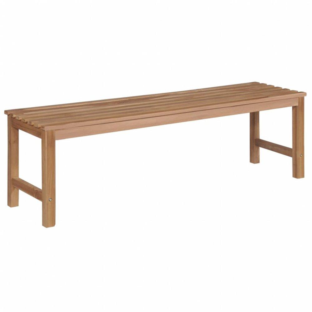 Zahradní lavička 150 cm z teakového dřeva