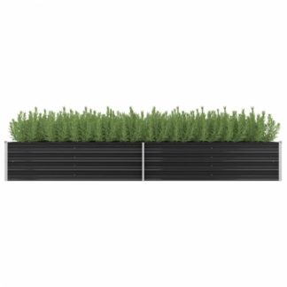 Zahradní truhlík 320x80x45 cm ocel Dekorhome