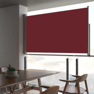 Zatahovací boční markýza 140x300 cm Dekorhome Červená