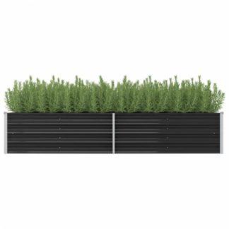 Zahradní truhlík 240x80x45 cm ocel Dekorhome