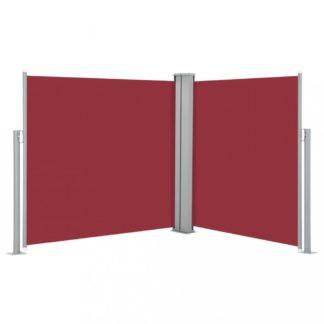 Zatahovací boční markýza 120x600 cm Dekorhome Červená