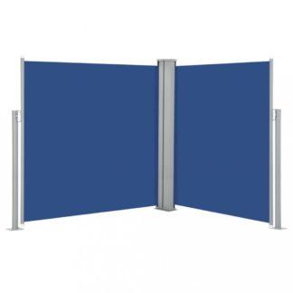 Zatahovací boční markýza 160x600 cm Dekorhome Modrá