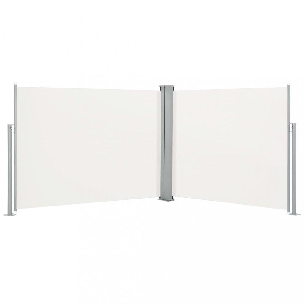 Zatahovací boční markýza 140x1000 cm Dekorhome Krémová