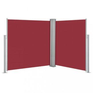 Zatahovací boční markýza 170x600 cm Dekorhome Červená