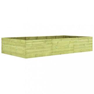 Zahradní truhlík 300x150x54 cm borovice Dekorhome