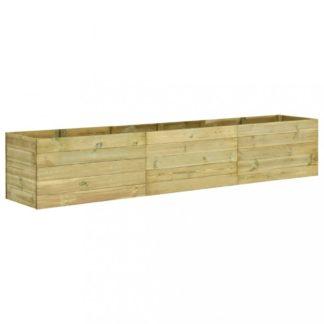 Zahradní truhlík 450x50x54 cm borovice Dekorhome