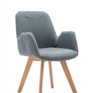 Dřevěná židle SAFARI šedá Halmar