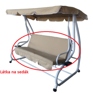 látka na sedák DE LUXE ROJAPLAST Béžová
