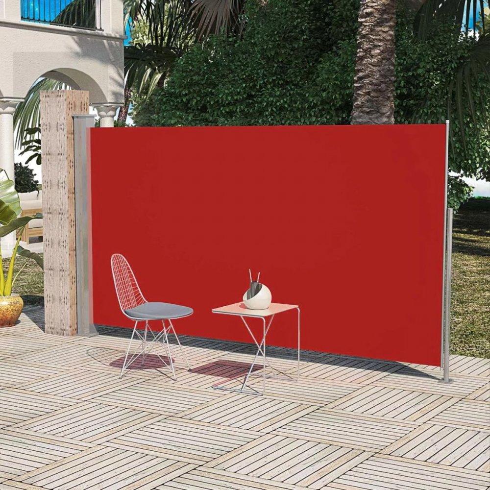 Zatahovací boční markýza 160x300 cm Dekorhome Červená