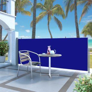 Zatahovací boční markýza 140x300 cm Dekorhome Modrá