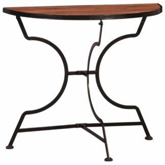 Zahradní bistro stolek akáciové dřevo Dekorhome