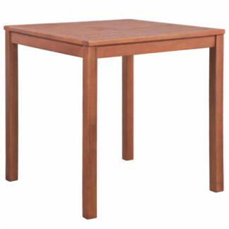 Zahradní stůl 80x80 cm z akáciového dřeva Dekorhome Akácie