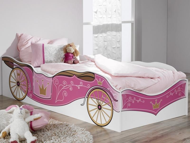 Dětská postel Kate 90x200 cm, královský kočár