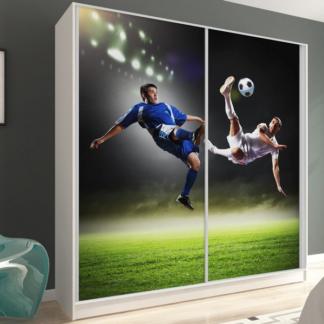 Šatní skříň Inspirato, motiv fotbal