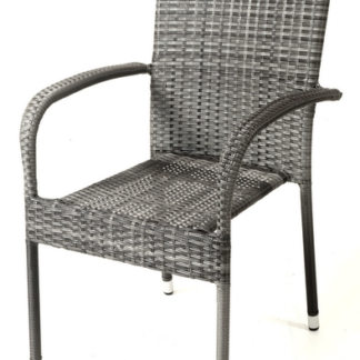 Asko Zahradní židle Paris, šedá