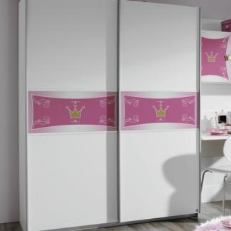Asko Dětská šatní skříň Kate, posuvné dveře