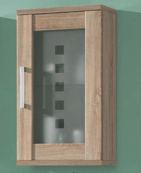 Asko Koupelnová závěsná skříňka Poseidon, dub Sonoma