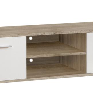 Asko TV skříňka Quadro T13, dub sonoma/bílá