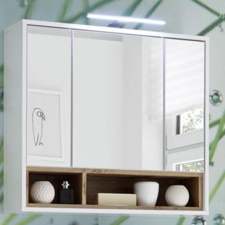Asko Koupelnová skříňka se zrcadlem Milano, s osvětlením