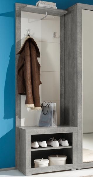 Asko Věšákový panel s botníkem Stone 33-679