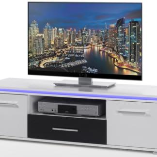 Asko TV skříňka Blue Line 3, s osvětlením