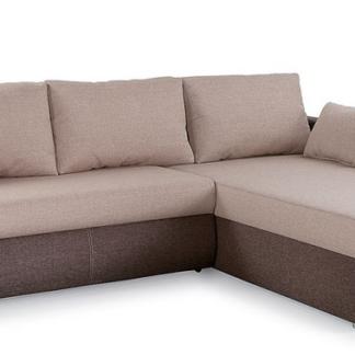 Asko Rohová sedací souprava Torgau, hnědá/béžová tkanina